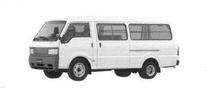 Mazda Bongo Brawny VAN Wide & Low, 2WD, Long Body, 3/6-seater, 2000 Gasoline, 5 Door, DX 2004 г.