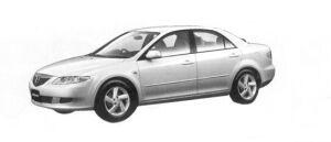 Mazda Atenza Sedan 23E Luxury Package 2004 г.
