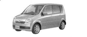 Daihatsu Move R 2 WD 2004 г.
