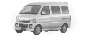Mazda Scrum Wagon STAND OFF Aero Turbo PZ 2004 г.