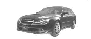 Subaru Legacy TOURING WAGON 2.0GT spec.B 2004 г.