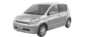 Daihatsu Boon 1.0 CL 2WD 2004 г.