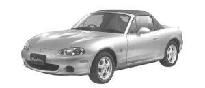 Mazda Roadster 1600 SP 2004 г.