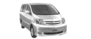 "Toyota Alphard HYBRID ""G Edition"" 2004 г."