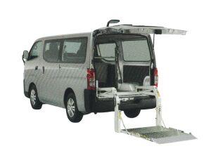 Nissan NV350 Caravan Van with Lifter, Long Body, Standard Roof, Low Floor, 3/6 passenger, with Emergency Brake 2020 г.