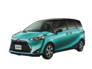 Toyota Sienta G Cuero (Hybrid, 7-seater, 2WD) 2020 г.