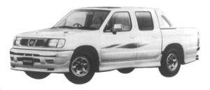 Nissan Datsun 2WD DOUBLE CAB 1997 г.