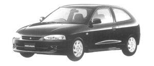 Mitsubishi Mirage 3DOOR X 1997 г.
