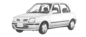 Nissan March 5DOOR 1300A# 1997 г.
