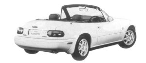 Mazda Eunos Roadster S-SPECIAL TYPE-I 1997 г.