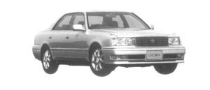 Toyota Crown 4DOOR 3.0 ROYAL TOURING 1997 г.