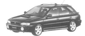 Subaru Impreza SPORTS WAGON WRX 1997 г.