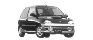 Subaru Vivio 3DOOR RX-SS 1997 г.
