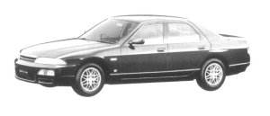 Nissan Skyline 4DOOR SEDAN GTS-4 TYPE XG 1997 г.