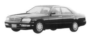 Nissan Cedric V20E BRAUHAM J 1997 г.