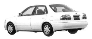 Toyota Corolla SEDAN 1.5 SE-SALOON  L SELECTION 1997 г.