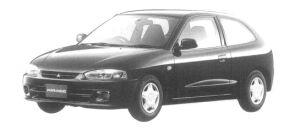 Mitsubishi Mirage 3DOOR J 1997 г.