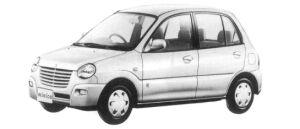 Mitsubishi Minica 5DOOR PX 1997 г.