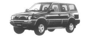 Nissan Mistral 4DOOR TYPE X 1997 г.