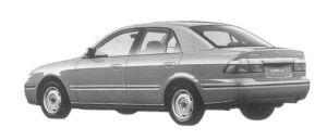 Mazda Capella Ci 1997 г.