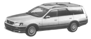Nissan Stagea 25tRS FOUR V 1997 г.