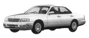 Nissan Cedric 25 TWINCAM TURBO BRAUHAM FOUR 1997 г.