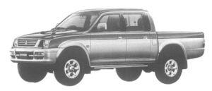 Mitsubishi Strada R 1997 г.