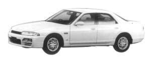 Nissan Skyline 4DOOR SEDAN GTS25 TYPE XG 1997 г.