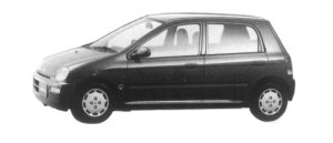 Honda Today 5DOOR TF 1997 г.