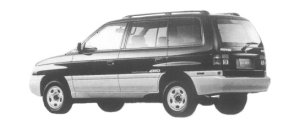 Mazda Efini MPV TYPE V-FOUR 2500 DIESEL TURBO 1997 г.
