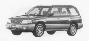 Subaru Forester T/tb 1999 г.