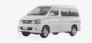 Toyota Touring Hiace 4WD 2.7 GASOLINE 1999 г.
