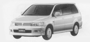 Mitsubishi Chariot GRANDIS EXCEED 1999 г.
