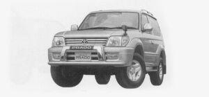 Toyota Land Cruiser Prado RZ3400 GASOLINE 1999 г.