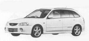 Mazda Familia S-WAGON SPORTS20 2WD 1999 г.