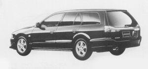 Mitsubishi Legnum VR-4 TYPE-V 1999 г.