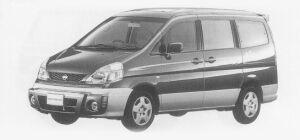 Nissan Serena EXCLUSIVE FRONT OVERRIDER SPEC 2WD 2.0 1999 г.