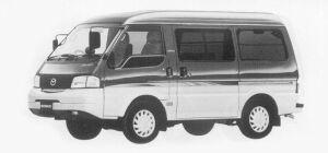 Mazda Bongo VAN LOW FLOOR 4WD HIGH ROOF, GL SUPER 1999 г.