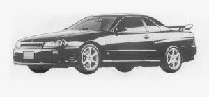 Nissan Skyline 2DOOR SPORT COUPE 25GT TURBO 1999 г.