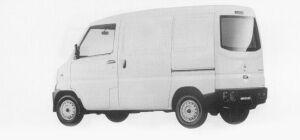 Mitsubishi Minicab VAN CS 2-SEATER DARK WINDOW 1999 г.