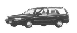 Mazda Familia Wagon 1500 DOHC XG 4WD 1995 г.