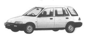Honda Civic PRO 1.3 1995 г.