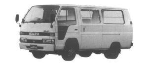 Isuzu Elf Route Van 1.45T STANDARD ROOF, FLAT LOW 1995 г.
