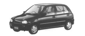Subaru Vivio 5 door Sedan em 1995 г.