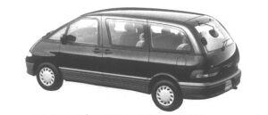 Toyota Estima Emina X 2WD 2400 16VALVE EFI 1995 г.
