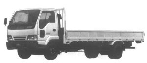 Isuzu Forward JUSTON 210PS 4.25T 1995 г.