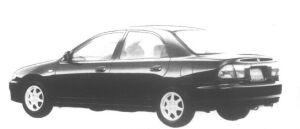 Mazda Familia Sedan Interplay X 1800 1995 г.