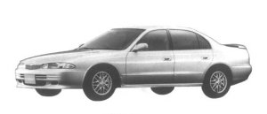 Mitsubishi Eterna 1800 DOHC 16V Visage Touring 1995 г.