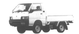 Mitsubishi Delica Truck 4WD GL 1995 г.