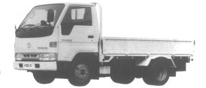 Toyota Toyoace JUST LOW, LONG DECK 1.5T DIESEL 1995 г.